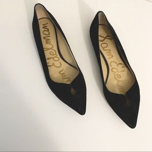 Sam Edelman Black Pointed Toe Flats Size 7